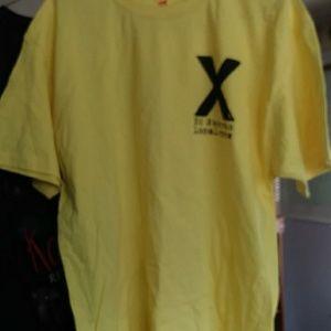 Yellow local crew Ed Sheeran t shirt
